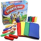 KreativeKraft Sports Day Kit | Mega Ensemble De 18 Pièces Jeux D'extérieur...