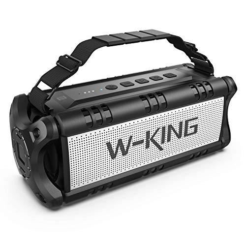 W-KING 50W(Picco 70W) Altoparlante Bluetooth Portatili -24 Ore di Riproduzione - Portatile Speaker...