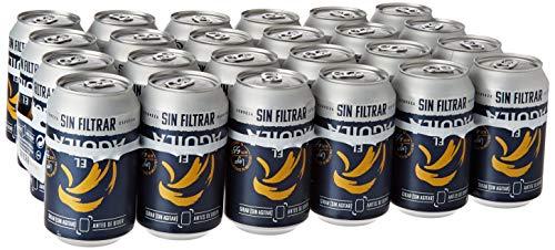 El Aguila Cerveza Especial sin Filtrar, Paquete de 24 x 330ml