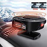 Maso 【Upgrade】 Portable Car Heater 12V 150W High Power in Car Heater Fast Heating Fan for Defrosting Automobile Windscreen & Keeping Warm