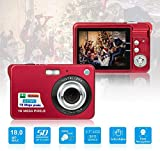 HD Mini Digital Cameras,Point and Shoot Digital Cameras for Kids Teens-Travel,Camping,Gifts