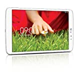 LG GPad V500 Tablette tactile 8,3' Blanc (16 Go Android Jelly Bean 4.2.2, WiFi)
