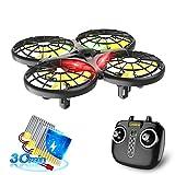 Loolinn | Drone per Bambini - Regalo di Natale, Mini Drone Telecomandato con Tecnologia Anti-Collisione Automatica / Controllo Manuale / 30 Minuti di Volo ( Tre Batterie Incluse )
