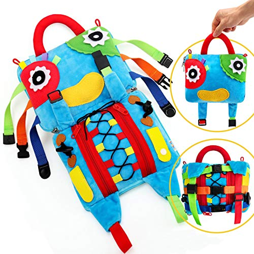 teytoy Sensory Pillow Toys for Children,Busy Toy Bag...