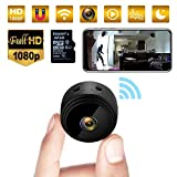 Mini Espion, caméra cachée WiFi 32G 1080p avec caméra de Surveillance de...