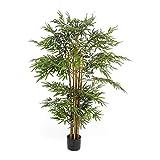 Pureday Plante Artificielle Arbre de Bambou, Vert, 170 cm de Haut env.
