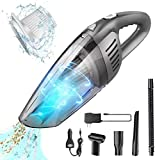 Portable Cordless Handheld Car Vacuum Cleaner, Benefast 7000PA Strong Suction, 120W High Power,...