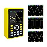YEAPOOK ADS5012h Handheld Digital Portable Oscilloscope Mini Storage Oscilloscope Kit with 100MHz Bandwidth 500MS/s Sampling Rate 2.4'' TFT LCD Display