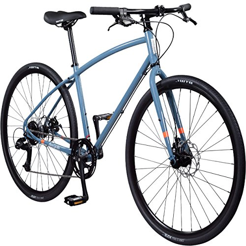 Pure Cycles Pure Cycles 8-Speed Urban Commuter Bicycle, Peli Blue, 50cm/Small
