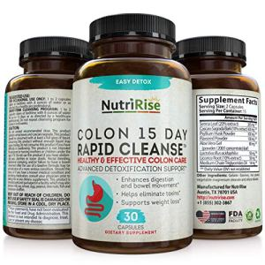 Colon Cleanser Detox for Weight Loss. 15 Day Fast-Acting Extra-Strength Cleanse with Probiotic & Natural Laxatives for Constipation Relief & Bloating Support. 30 Detox Pills to Detoxify & Boost Energy 4 - My Weight Loss Today