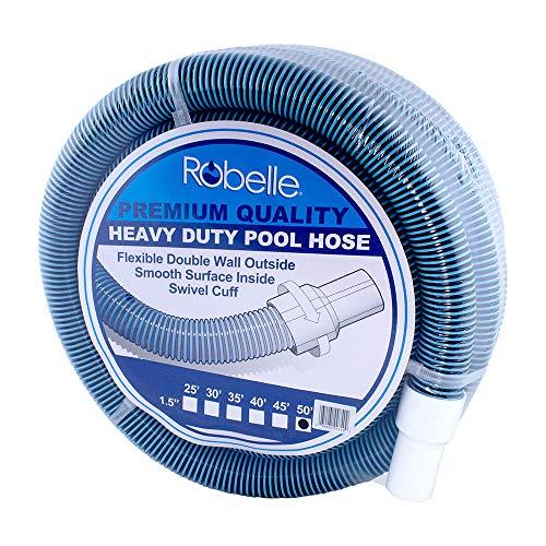 Robelle Premium 770H Swimming Pool Vacuum Hose, 50' x 1-1/2'