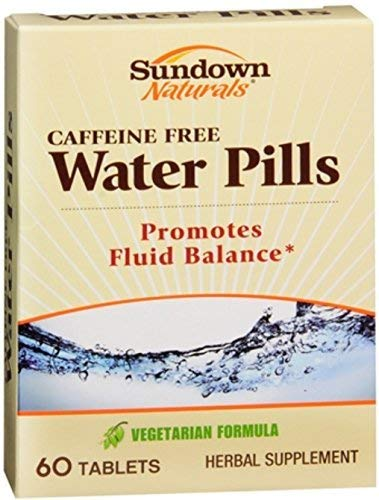 Sundown Naturals Natural Water Pills 60 Tablets (Pack of 2) by Sundown