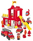Jouets Ecoiffier -3026 - Grande caserne de pompiers Abrick – Jeu de...