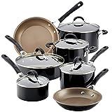 Circulon Innovatum Aluminum 12-Piece Nonstick Cookware Set (Black)