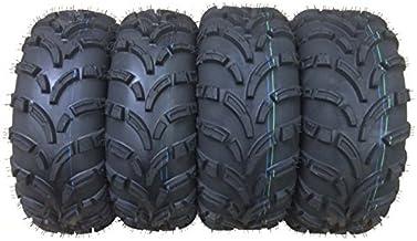 Set of 4 WANDA ATV/UTV Tires 26×9-12 Front & 26×10-12 Rear /6PR P373-10257/10259