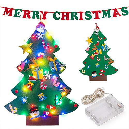 PITAYA Árbol de Navidad de Fieltro,Arbol de Navidad de Fiel