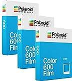 Polaroid Originals Film Couleur pour 600 - Lot de 3paquets (24photos)