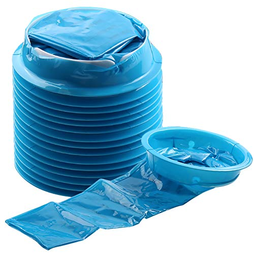 Emesis Bags, YGDZ 15 Pack Barf Bags Vomit Bags Disposable Car Puke Throw Up Nausea Bags for Travel Motion Sickness, Kids, Taxi,1000ml