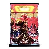 Onmyoji Shuten-d □ Ji Modello dedicato la Scatola di immagazzinaggio Acrilico LED HD Sfondo a Getto d'inchiostro Copertura Antipolvere GK Fatto a Mano (Color : Background+Up And Down Light)
