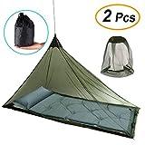 FEPITO Moustiquaire pour Lit de Camping Unique et...