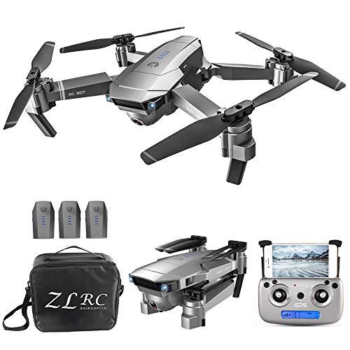 Goolsky Drone SG907 5G WiFi 1080P con Doppia Fotocamera GPS Posizionamento del Flusso Ottico Interfaccia MV Seguimi Gesto Foto Video RC Quadcopter