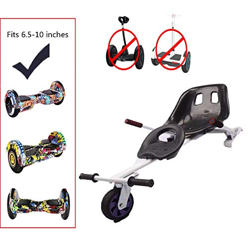 Hoverkart Per Hoverboard, Go-Kart Hovercart Regolabile Per Hover Balance Board Da 6.5' 8' 10', Per...