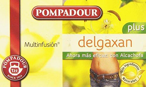 Pompadour Té Delgaxan Plus, 30g