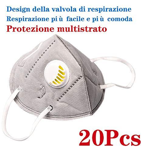 Protezione personale KN-95 FF-P2 Mas-chere adatto per uomini e donne adulti