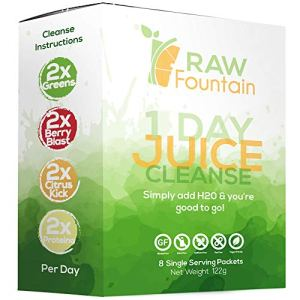 Juice Cleanse Detox, 24 Powder Packets, Travel and Vegan Friendly, Weight Loss Program, All Natural, Includes Protein 4 - My Weight Loss Today