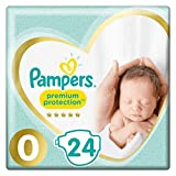 Pampers Premium Protection Taille 0, 24 Couches,