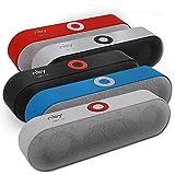 IYUNDUN Altoparlante Bluetooth Wireless Portatile, Sistema Audio Stereo 3D, Suono Surround, Tempo di Riproduzione 10 Ore, per La Casa, All'aperto (Color : Black)