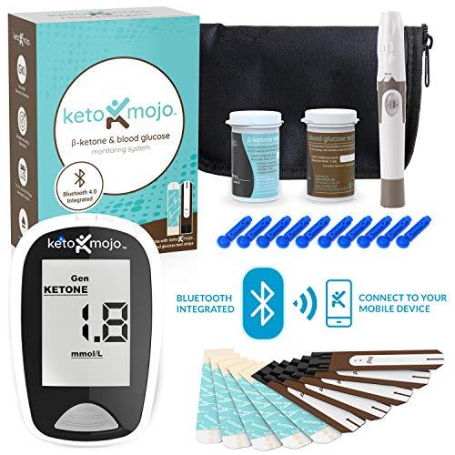 KETO-MOJO Blood Ketone and Glucose Testing Meter Kit
