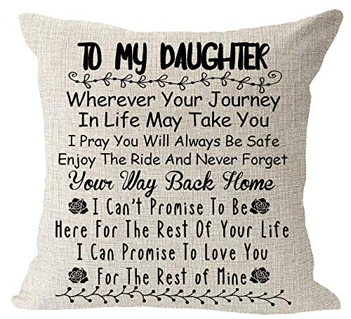 to My Daughter Never Forget Your Way Back Home I Can Promise...