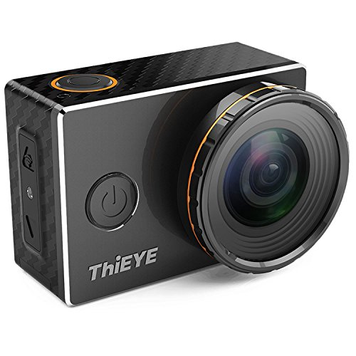 ThiEYE 4K WiFi Sports Action Camera Waterproof Sports Video Camcorder with Replaceable UV and CPL Filters, 170 Wide Angle, 197FT Waterproof and Mounting Accessories Kits(V5s)