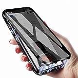 のぞき見防止 Galaxy S9 ケース ガラス マグネット アルミ バンパー 両面ガラス ギャラクシー ……