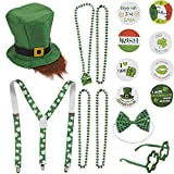 Leprechaun Costume Accessories Set, St. Patrick's Day Outfit (16 Pieces)