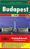 Budapest, Stadtplan 1:10.000, City Pocket + The Big Five (freytag & berndt Stadtpläne)