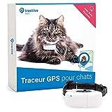 Tractive collier GPS pour chat, Suivez-le partout, Suivi GPS 24h/24 et...