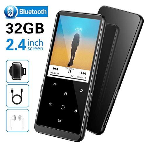 32GB Lettore MP3 con Bluetooth 4.2, Supereye 2.4 Pollici Portatile Lossless Sound Lettore MP3, con...