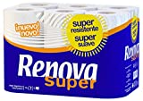 Renova Papel higiénico Super Blanco - 12 rollos de papel