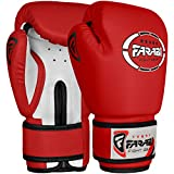 Gants de boxe junior enfants 4 oz Red sparring trainning Punching Bag pads...