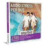 smartbox - Cofanetto Regalo Addio Stress per Due - Idea Regalo per la Coppia - 1 Esperienza Wellness per 2 Persone