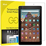 JETech Screen Protector for Amazon Fire HD 10 Tablet 10.1' (7th / 9th Generation, 2017/2019 Release) and Fire HD 10 Kids Edition, Tempered Glass Film