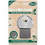 CHEER Peigne anti-poux et lentes en acier trempé inoxydable 100% recyclable,...