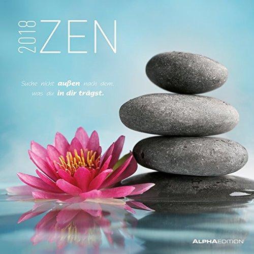 Calendario de pared «Zen» 2018de 30x 30cm