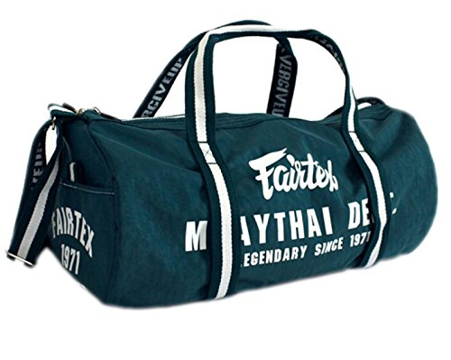 Fairtex BAG9 Retro Style Barrel Bag Thai Boxing Heavy Gym Bag Myay Thai MMA