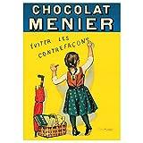 Editions Clouet 50168 - Affiche publicitaire 50x70 cm Chocolat Menier - Petite Menier