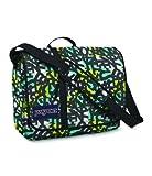 JanSport Classics Series Market St. Messenger Bag (Blinded Blue/Alien Green Jumble Jan)