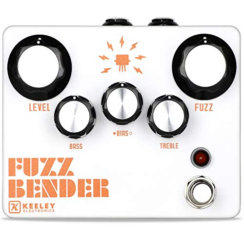 Keeley Fuzz Bender Fuzz pedal with active EQ