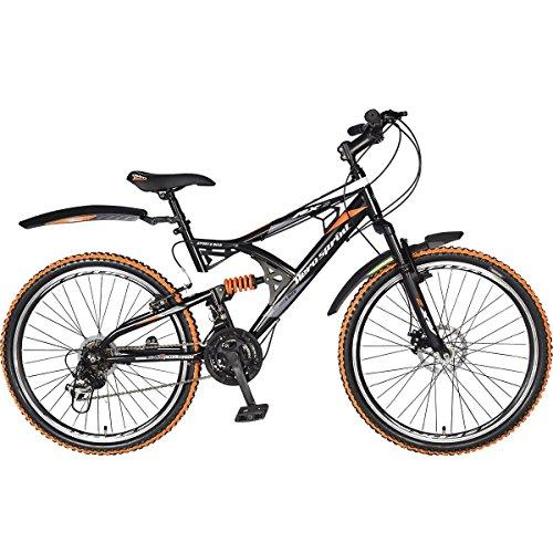 Hero RX2 26T 21 Speed Sprint Cycle with Disc Brake (Black/Orange)